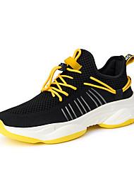 Недорогие -Муж. Комфортная обувь Tissage Volant Лето / Осень Спортивные / На каждый день Спортивная обувь Беговая обувь Нескользкий Черный / Белый / Желтый / Белый / Атлетический / Доказательство износа