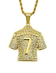 povoljno -Muškarci Ogrlica Krom Zlato 75 cm Ogrlice Jewelry 1pc Za Dnevno Škola Ulica Praznik Festival
