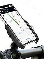 Недорогие -Крепление для телефона на велосипед Компактность Регулируется / Выдвижной Противозаносный для Шоссейный велосипед Горный велосипед Складной велосипед Aluminum Alloy iPhone X iPhone XS iPhone XR