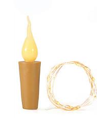 Недорогие -пламя loende в форме пробки светлячки ремесло бутылочные огни на батарейках свечи для винных бутылок