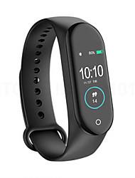 Недорогие -Indear M4S Мужчина женщина Умный браслет Android iOS Bluetooth Водонепроницаемый Сенсорный экран Пульсомер Измерение кровяного давления Спорт