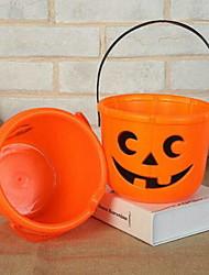 Недорогие -Праздничные украшения Украшения для Хэллоуина Декоративные объекты Держать в руке Оранжевый 1шт