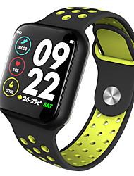Недорогие -Z-YeuY F8 Мужчина женщина Умный браслет Android iOS Bluetooth Водонепроницаемый Сенсорный экран Пульсомер Измерение кровяного давления Спорт ЭКГ + PPG
