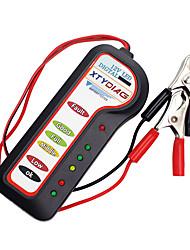 Недорогие -kiorc 12v автомобильный цифровой аккумуляторный генератор тестер 6 светодиодные фонари дисплей диагностический инструмент