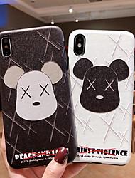 povoljno -Θήκη Za Apple iPhone XS / iPhone XR / iPhone XS Max Ultra tanko / Uzorak Stražnja maska Crtani film TPU