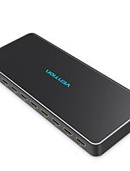 Недорогие -разветвитель HDMI 1 в 8 из 4k разветвитель 1x8 адаптер переключателя HDMI с блоком питания для телевизора PS3 / 4 ноутбука HDMI разветвитель
