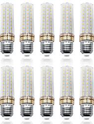 Недорогие -LOENDE 10 шт. 9 W LED лампы типа Корн 900 lm E26 / E27 T 80 Светодиодные бусины SMD 2835 Тёплый белый Белый 85-265 V