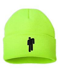 povoljno -Muškarci Žene Jednobojni Posao Osnovni Slatka Style Pamuk-Šešir širokog oboda Skijaška kapa Jesen Zima Crn Svjetloplav žuta