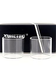 Недорогие -замена стеклянной трубки yuhetec для wotofo bravo rta 4.5мл 2шт