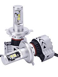 Недорогие -2 шт. Светодиодные фары ip68 водонепроницаемый 6000lm замена лампы для автомобиля rv suv mpv автомобиль