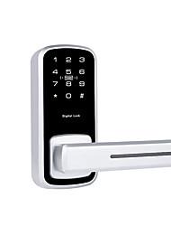 Недорогие -dm918 цинковый сплав интеллектуальный замок / пароль блокировка умный дом безопасность windows mobile система RFID / разблокировка паролем дома / офиса / гостиницы деревянная дверь / композитная дверь