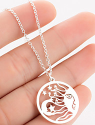 povoljno -Žene Ogrlica Tikovina Kamen Rose Gold Zlato Pink 45 cm Ogrlice Jewelry 1pc Za Dnevno Škola Ulica Praznik Festival