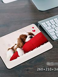 Недорогие -litbest игровой коврик для мыши 210 * 260 * 3 см резиновый