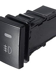 Недорогие -черный пластиковый корпус 5-контактный самоблокирующийся выключатель противотуманных фар для автомобиля toyota corolla