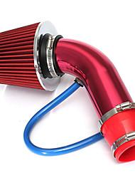 Недорогие -76 мм / 3 дюйма универсальный автомобиль холодного воздуха, впускной фильтр, шланг системы впускной трубы комплект системы