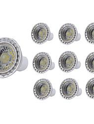 Недорогие -10 шт. 5 W Точечное LED освещение 400 lm GU10 GU10 1 Светодиодные бусины COB Декоративная Тёплый белый Холодный белый 85-265 V
