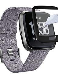 Недорогие -защитная пленка для экрана fitbit versa / fitbit versa lite закаленное стекло 9-часовая твердость смотреть закаленное стекло с полным покрытием защитная пленка для экрана fitbit versa / fitbit versa