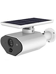 Недорогие -Камера видеонаблюдения strongshine, работающая на солнечной энергии, беспроводная, 960p, 1,3-мегапиксельная, с функцией обнаружения движения.