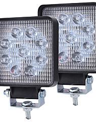 Недорогие -супер тонкий квадратный 90w прожектор луч светодиодный рабочий свет вождения противотуманные фары