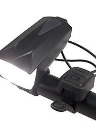 Недорогие -Светодиодная лампа Велосипедные фары Велосипедная фара с сигналом LED Горные велосипеды Велоспорт Водонепроницаемый Несколько режимов Супер яркий 18650 110 lm USB Перезаряжаемый Белый / Большой угол