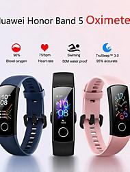 Недорогие -Huawei Honor Band 5 Smart Watch BT Поддержка фитнес-трекер уведомлять и пульсометр спортивные Bluetooth-гарнитура SmartWatch совместимые телефоны Iphone / Samsung / LG / Android