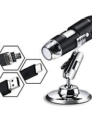 Недорогие -Профессиональный USB цифровой микроскоп 1000x8 светодиодный электронный микроскоп эндоскоп зум-лупа