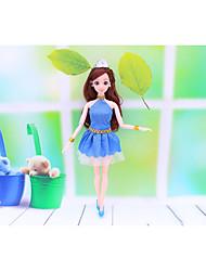 Недорогие -Кукольный наряд Для Barbie Цветочные ботанический Полиэстер Пальто Для Девичий игрушки куклы