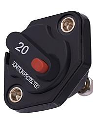 Недорогие -Предохранитель автоматического выключателя энергии мотора автомобиля 20a встроенный 12v / 24v