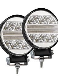 Недорогие -102 Вт 4 дюймовый автомобиль круглой формы светодиодный рабочий свет модифицированный грузовик внедорожных крышных светильников package2pcs