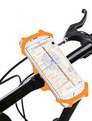 Недорогие -Крепление для телефона на велосипед Поворот на 360° для Шоссейный велосипед Горный велосипед Складной велосипед Силикон iPhone X iPhone XS iPhone XR Велоспорт Черный Оранжевый Зеленый