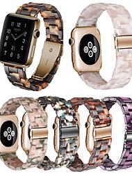 Недорогие -ремешок из смолы для яблочных часов серии 4/3/2/1 iwatch band 42мм / 38мм / 44мм / 40мм аксессуары браслет ремень