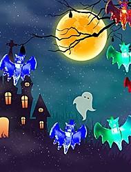 Недорогие -3 м летучая мышь огни 20 светодиодов многоцветный хэллоуин бар ужасов украшение партии 3 В 1 компл.