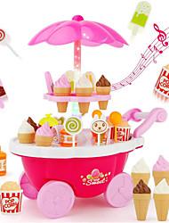 Недорогие -Игрушка для мороженого Игрушечная еда Ролевые игры Еда и напитки Мороженное Десерт Безопасно для детей Детские Дети (1-4 лет) Девочки Игрушки Подарок 39 pcs