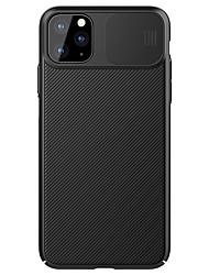Недорогие -Чехол Nillkin для Apple Iphone 11 / Iphone 11 Pro / Iphone 11 Pro Max Ударопрочный линии задней крышки / волны ПК для Iphone 11 / Iphone 11 Pro / Iphone 11 Pro Max