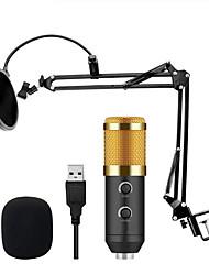 Недорогие -m 900 usb микрофон конденсаторная студия с подставкой и микрофоном с поп-фильтром для компьютерного караоке 6 шт.