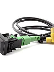 Недорогие -310usb rcd510 жгут проводов rns315 rcd510 usb кабель переключения для vw mk6 golf 6 scirocco jetta стандартное напряжение 12 В