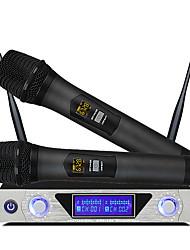 Недорогие -MU-868 UHF беспроводной микрофон микрофон караоке ручной микрофон для компьютера спикер студия микрофон sem fio