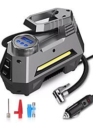Недорогие -Портативный воздушный компрессор насос инфлятор контроля давления в шинах жк-цифровой дисплей 12 В для автомобиля грузовик велосипед р
