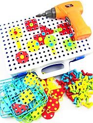 Недорогие -Конструкторы 151 pcs совместимый Legoing трансформируемый Все Игрушки Подарок