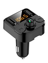 Недорогие -автомобильная mp3 быстрая зарядка Bluetooth-гарнитура громкой телефон автомобильный Bluetooth-плеер автомобильная музыка плагин карты FM-приемник