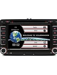Недорогие -junsun 2531 7inch 2din windows ce in-dash автомобильный DVD-плеер / автомобильный MP5-плеер / автомобильный MP4-плеер GPS / MP3 / встроенный Bluetooth для Volkswagen Skoda сиденье Yeti Поддержка AVI