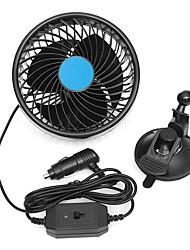 Недорогие -6-дюймовый воздушный вентилятор охлаждения присоски авто автомобиль малошумный грузовик вентилятор-12v / 24v