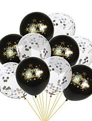 Недорогие -Воздушный шар эмульсионный 10 шт. День рождения