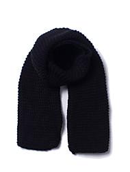 Недорогие -Универсальные Для офиса / Классический Прямоугольный платок Однотонный