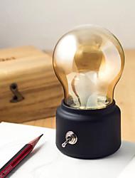 Недорогие -1 комплект Шары LED Night Light Тёплый белый USB Креатив / День рождения / Атмосферная лампа 5 V