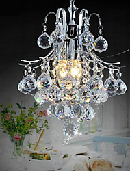 Недорогие -Европейская классическая люксовая хрустальная мини-люстра tieyi, простые осветительные приборы в проходной железной гостиной и ресторане