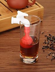 Недорогие -силиконовый смеситель для заваривания чая рассыпной чайный лист ситечко травяной фильтр для специй диффузор