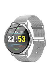 Недорогие -R88 Smart Watch BT Поддержка фитнес-трекер уведомить / пульсометр спортивные из нержавеющей стали SmartWatch совместимые телефоны Iphone / Samsung / Android