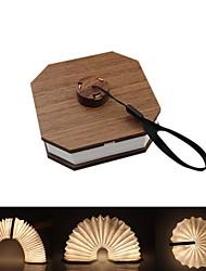 Недорогие -1шт оформление книги светло-натуральный белый / красный / синий USB с изменением цвета / креатив / с USB-портом 5 В