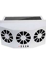 Недорогие -автомобильный вентилятор 3 кулера вентилятор солнечного охлаждения вытяжной вентилятор портативный сейф автоматический вентилятор